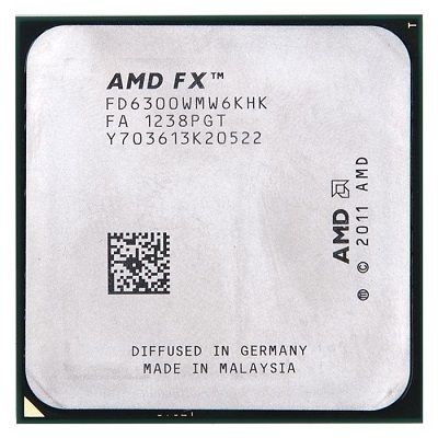 Процессор AMD FX-6300 3.5 GHz / 6core / 6+8Mb / 95W / 5200 MHz Socket AM3+ OEM FD6300WMW6KHK