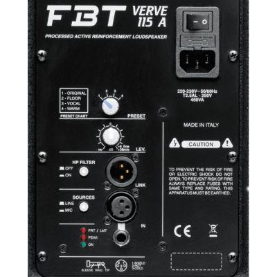 Акустическая система FBT Verve 115A (активная)