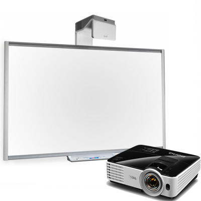 SMART Technologies ��������: ������������� ����� SMART SBM685 + �������� Benq MW621ST