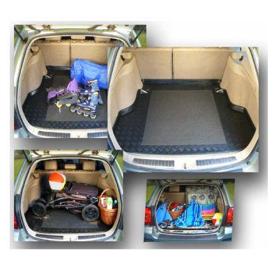 Rezaw-Plast Коврик багажника Audi Q3 2011-> (с запаской) с бортиком полиуретановый черный RZ 232028