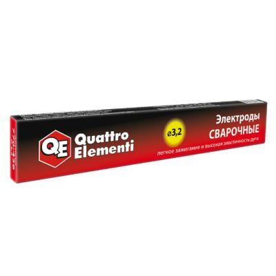 Quattro Elementi Электроды сварочные рутиловые, 3,2 мм, масса 0,9 кг 770-438
