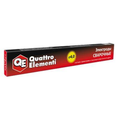 Quattro Elementi Электроды сварочные рутиловые, 4,0 мм, масса 0,9 кг 772-159