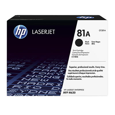 Картридж HP 81A Black/Черный (CF281A)