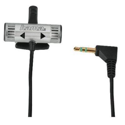 Hama Микрофон динамический стереофонический 100 Гц-15 кГц -62 дБ 3.5 мм Jack 1.0 м 00046108