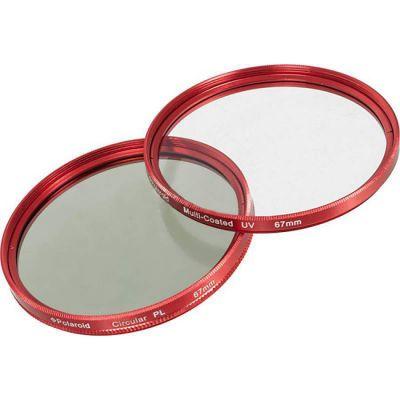 Polaroid ����� �������� MC UV+CPL 72�� red PLFILUVCPLKR72