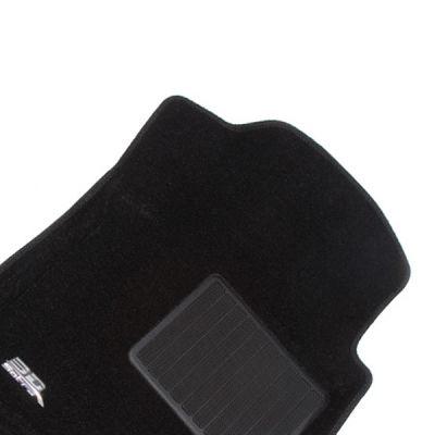 Sotra Коврики салона текст.Audi Q3 2011-> LINER 3D Lux с бортиком черные STR74-00224