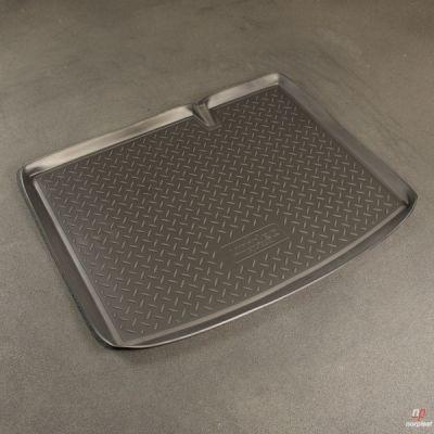Norplast Коврик багажника Audi A6 Sed 2008-> с бортиком полиуретановый черный NP P-05-03