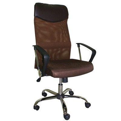 Офисное кресло Staten руководителя COLLEGE H-935L-2 коричневое (292690)
