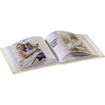 Hama Фотоальбом H-94524 Wild Rose 10x15/60 17.5х17 см 60 страниц белый