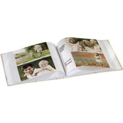 Hama Фотоальбом H-94528 Wild Rose 10x15/200 22х22.5 см 100 страниц белый