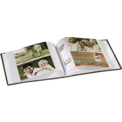 Hama Фотоальбом H-94529 Wild Rose 10x15/200 22х22.5 см 100 страниц коричневый