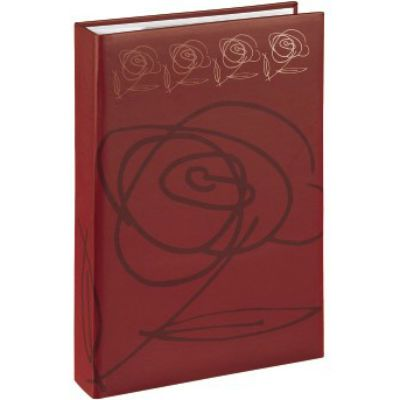 Hama Фотоальбом H-94530 Wild Rose 10x15/300 32.5х22.5х4.8 см 100 страниц красный