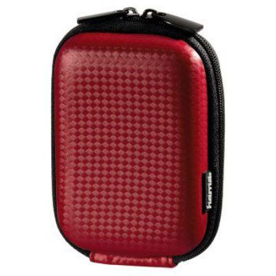 Фотосумка Hama H-103901 Hardcase Carbon Style 40G 6 x 2.5 x 9.5 см красный