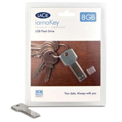 Флешка LaCie 8Gb iamaKey Slim USB 130870