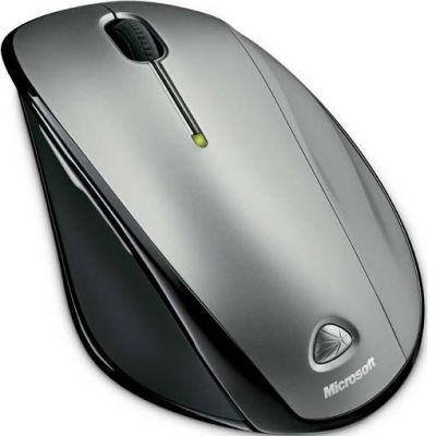 Мышь беспроводная Microsoft Wireless Laser Mouse 6000 V2.0 USB QVA-00006