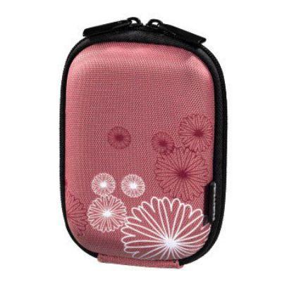 Фотосумка Hama H-115743 Hardcase Flower 40 G розовый