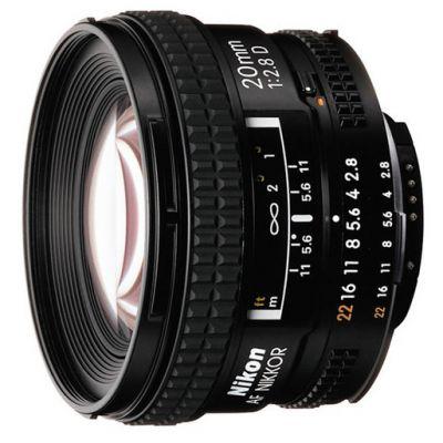 Объектив для фотоаппарата Nikon 20mm f/2.8D AF Nikkor JAA127DA