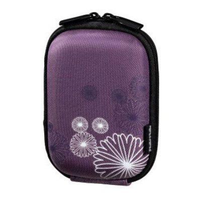 Фотосумка Hama H-115745 Hardcase Flower 40 G пурпурный