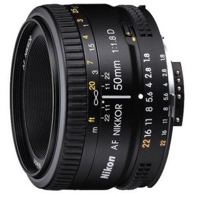 Объектив для фотоаппарата Nikon 50mm f/1.8D AF Nikkor JAA013DA