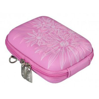 Чехол Riva 7023 (PU) Digital Case pink (flowers)