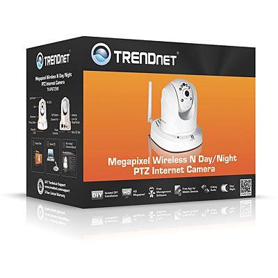 Камера видеонаблюдения TrendNet TV-IP672WI