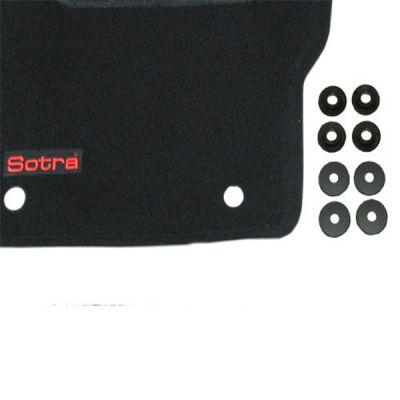 Sotra Коврики салона текст.Ford S-Max LINER 3D Standart с бортиком черные,с шипами с обр.стороны ST 76-00036