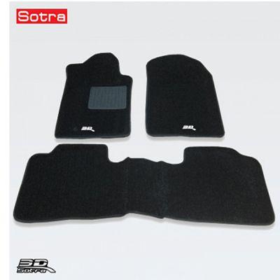 Sotra Коврики салона текст.Lexus GS250/350/450h RWD 2012-> LINER 3D Lux с бортиком черные STR74-00222
