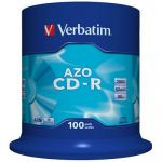 Диск Verbatim CD-R 700Mb 52x DataLife+ Cake Box (100шт)