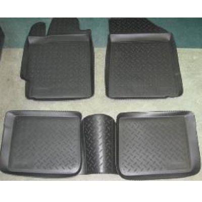Коврики в салон Hopper Opel Astra H 2004-> HOPPER с бортиками полиуретановые черные HO 04-00002