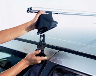 Багажник на крышу Thule Скоба крепежная [kit 4023] BMW X3 F25 10-> / X5 F15 2014-> интегр.рейл. TU 4023