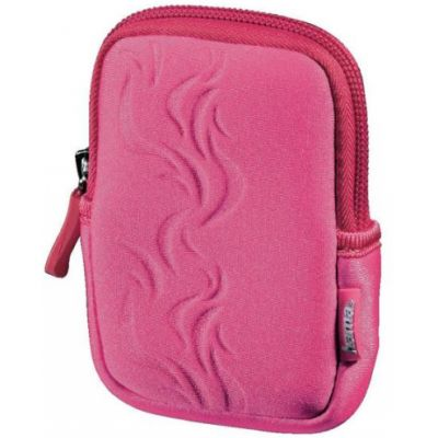 Сумка Hama для фотоаппарата Fancy Neoprene Flame 50E pink 6.5x2x10.5см 00103787