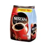 Кофе Nescafe Classic (750г, растворимый гранулированный, в мягкой упаковке)