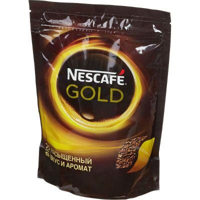 Кофе Nescafe Gold (150г, растворимый сублимированный, в мягкой упаковке)