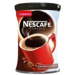 Кофе Nescafe Classic (100г, растворимый гранулированный, в жестяной банке)
