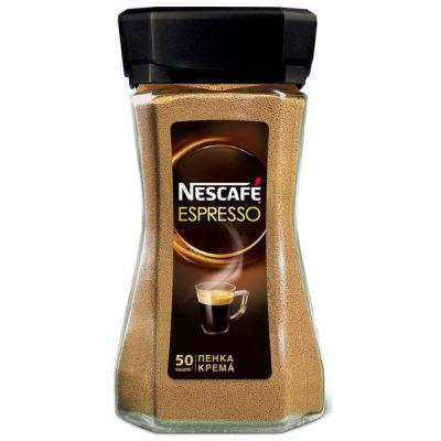 Кофе Nescafe Espresso (100г, растворимый, в стеклянной банке)