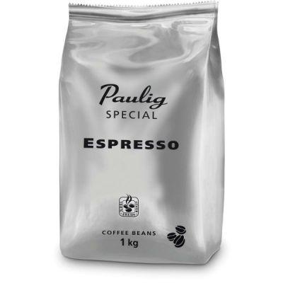 Кофе Paulig Special Espresso (1000г, в зернах, жареный, смеси Арабики и Робусты)