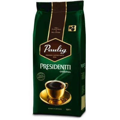 Кофе Paulig Presidentti Orig (250г, в зернах, жареный, Арабика)