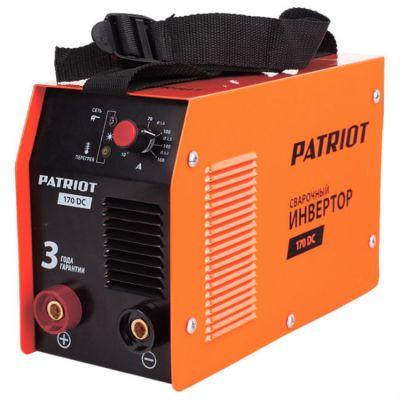 Аппарат Patriot 170DC MMA инвертор ММА DC 4.4 кВт 605302516