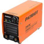 Аппарат Patriot 210DC MMA инвертор ММА DC 5.4 кВт 605302518