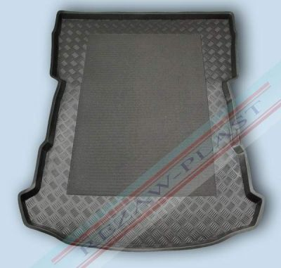 Rezaw-Plast Коврик багажника VW Touareg II 2010-> с бортиком полиуретановый черный RZ 231854