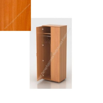 Шкаф ПМК (офисный) Ш-01 730*380*1960 с выдвижным тромбоном (Вишня оксфорд)