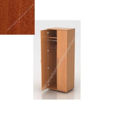 Шкаф ПМК (офисный) Ш-01 730*380*1960 с выдвижным тромбоном (Темный орех)