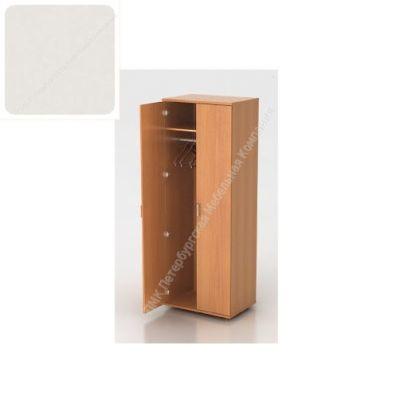 Шкаф ПМК (офисный) Ш-01 730*380*1960 с выдвижным тромбоном (Пепел)