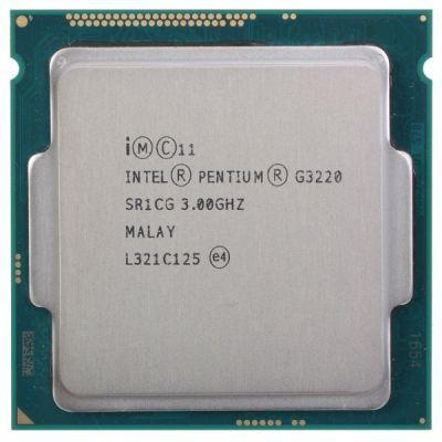 ��������� Intel Pentium Dual-Core G3220 Soc-1150 (3.0/5000/3Mb/HDG) OEM CM8064601482519S R1CG
