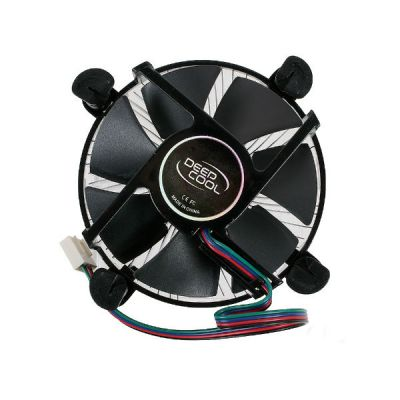 Кулер для процессора Deepcool CK-11509 Soc-1150/1155/1156/ 3pin 27dB Al 65W 137g клипсы RTL