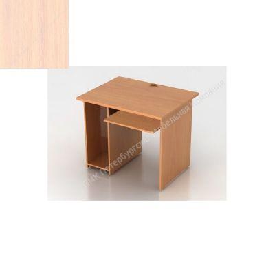 Стол ПМК (офисный) C7-3 компьютерный 1000*600*750 (Молочный дуб)