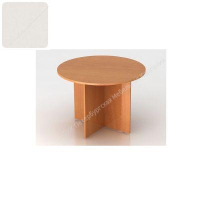 Стол ПМК (офисный) С-9К-11 круглый для конференций 1800*900*750 (Пепел)