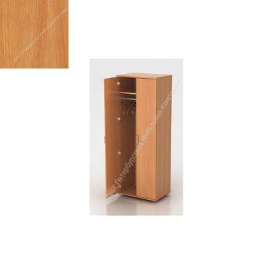 Шкаф ПМК (офисный) Ш-07 гардероб 730*550*1960 , штанга (Бук бавария)