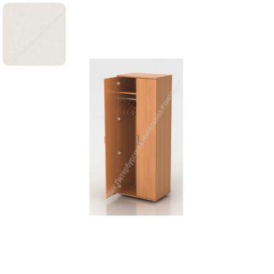 Шкаф ПМК (офисный) Ш-07 гардероб 730*550*1960 , штанга (Пепел)