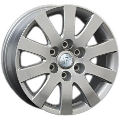 Колесный диск Replica Реплика MI20 7.5x17/6x139.7 D67.1 ET46 Silver